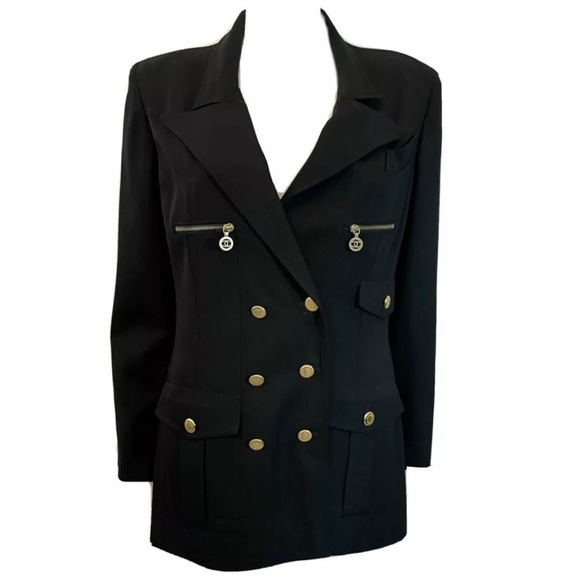 SOLD Chanel Vintage Double Breasted Blazer